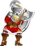 Czerwony rycerz Zdjęcia Royalty Free