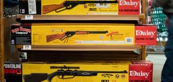 Czerwony Ryder BB pistolet, artykuł wstępny Illustrative/ zdjęcie stock
