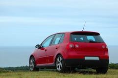 czerwony samochód zdjęcie stock