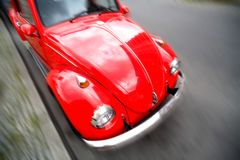 Czerwony samochód zdjęcie royalty free