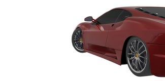 Czerwony samochód ilustracja wektor