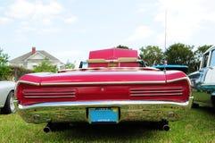 czerwony samochód odwracalni sporty Fotografia Royalty Free
