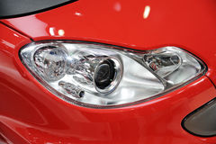 Czerwony samochodowy reflektor Obraz Royalty Free