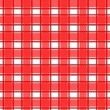 Czerwony scotch wzór fotografia stock