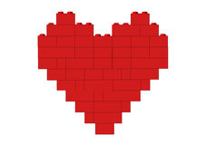 czerwony serca Obrazy Royalty Free