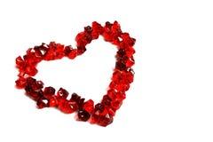 czerwony serca Obrazy Stock