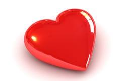 czerwony serca Zdjęcia Royalty Free