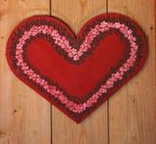czerwony serca Obraz Royalty Free