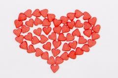 Czerwony serce Zdjęcia Stock
