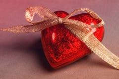 Czerwony serce Zdjęcie Royalty Free