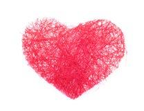 Czerwony serce Obraz Stock