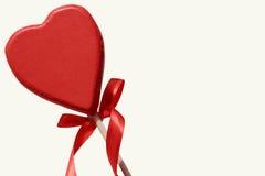 Czerwony serce dla St. walentynek dnia - miłość Obrazy Royalty Free