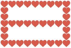 Czerwony serce projekt na Białym tle Miłość, serce, walentynka dzień Może używać dla artykułów, druk, Ilustracyjny zamierza, ilustracji