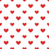 Czerwony serce wzór ilustracji
