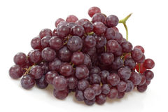 czerwony się blisko winogron Obraz Royalty Free