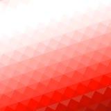 Czerwony siatki mozaiki tło ilustracja wektor