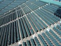 czerwony siedzenie Obraz Stock