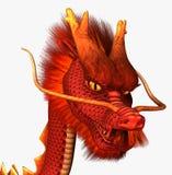 czerwony smok zdjęcia royalty free