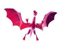 czerwony smok zdjęcie royalty free