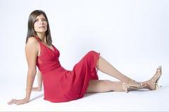 czerwony smokingowa fotografia stock