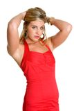 czerwony smokingowa Fotografia Royalty Free