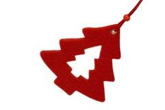 Czerwony sosna ornament zdjęcie royalty free