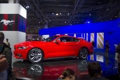 Czerwony sportowy samochód Obraz Royalty Free