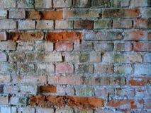 Czerwony stary ściana z cegieł Zdjęcia Royalty Free