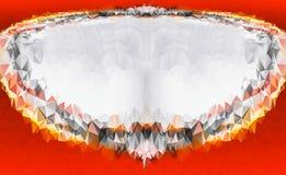 Czerwony Stary grunge rocznik wietrzał tło abstrakcjonistyczną antykwarską teksturę z retro wzorem zdjęcia royalty free