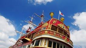czerwony statku Obraz Royalty Free