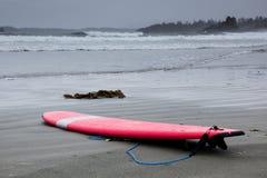 czerwony surfboard Zdjęcie Stock