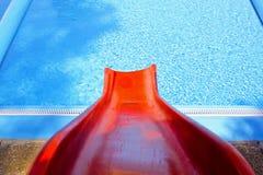czerwony suwak Fotografia Stock