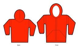 czerwony sweter Obraz Royalty Free