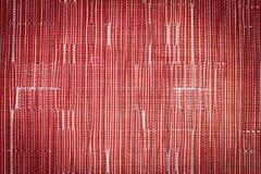 Czerwony syntetycznej tkaniny wzór Zdjęcie Royalty Free
