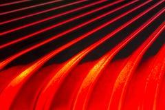 Czerwony szklany abstrakt Zdjęcia Royalty Free