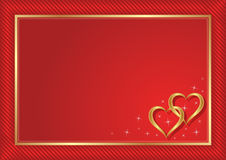 Czerwony tło Zdjęcia Royalty Free
