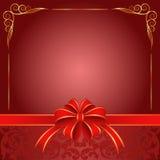 Czerwony tło Obrazy Royalty Free