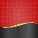 Czerwony tło Obrazy Stock