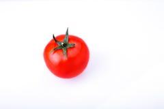 czerwony tło białe pomidorowego Zdjęcie Royalty Free