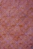 Czerwony tło płytki wzór. Obraz Stock