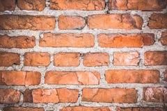 Czerwony tło stara ściana z cegieł tekstura zdjęcia stock