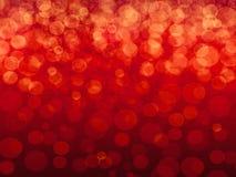 Czerwony tło z gradientem i głównymi atrakcjami zdjęcie stock
