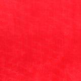 Czerwony tło, Zamazujący Czerwona Woolen tkanina Obrazy Royalty Free