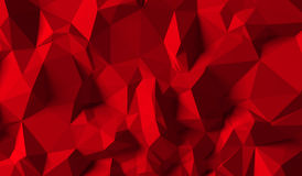 Czerwony tło trójboki royalty ilustracja