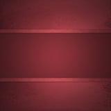 Czerwony tło z czerwonym tasiemkowym lampasa centrum Obrazy Stock