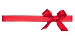 Czerwony Tasiemkowy krawat Obrazy Stock