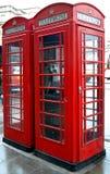 czerwony telefon Obrazy Royalty Free