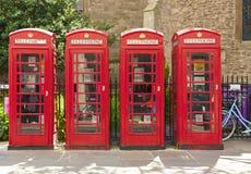 czerwony telefon kabin obraz royalty free