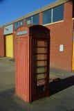 Czerwony telefoniczny pudełko Zdjęcia Stock