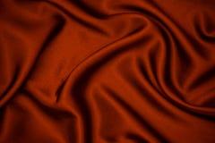 Czerwony tkaniny tekstury tło zdjęcie stock